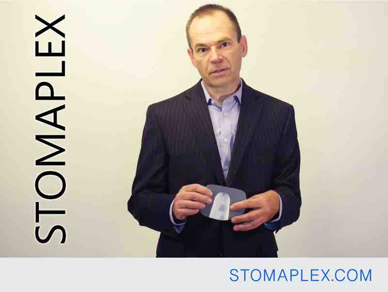 mens ostomy clothing, stoma guard has a comfort pad with ostomy belt by stomaplex for ostomy protection, bag support belt