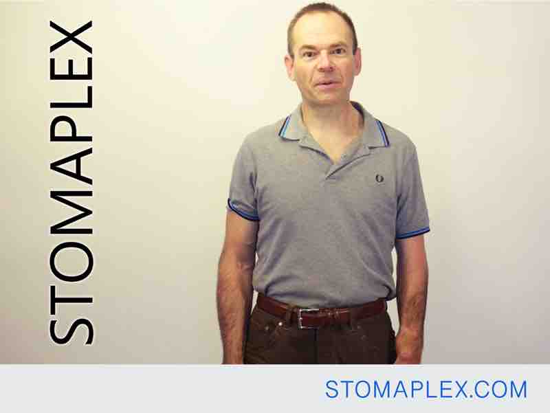 stoma guard with ostomy belt help men go out and enjoy life, stomaplex, bag support belt