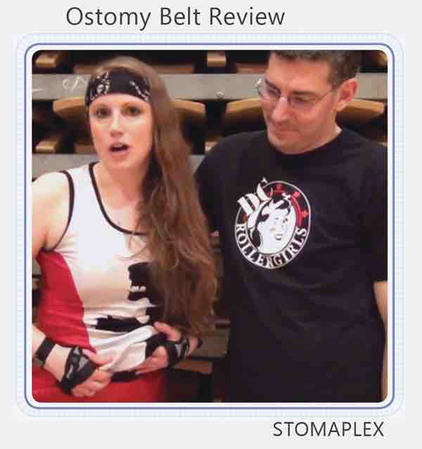 ostomy support belt youtube video link
