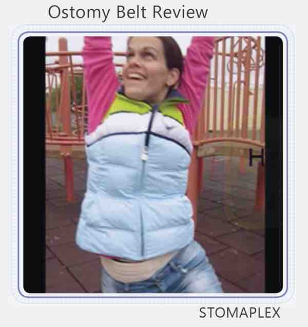 Ostomy Support Belt For Sports when you need Ostomy Protection  youtube video link